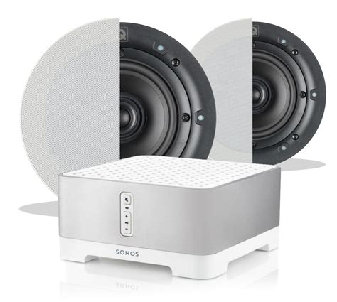 sonos ceiling speakers uk sonos connect q install ceiling speaker bundle