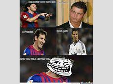 Messi Troll Ronaldo by xxxmoudixxx Meme Center