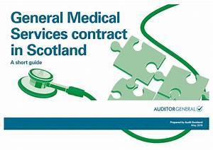 General Medical Services Contract In Scotland  A Short