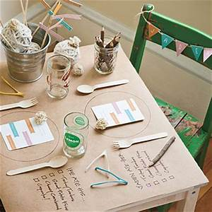 4 Fun Ideas for The Kids Table The Inspired Room
