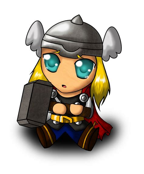 chibi thor by magy san on deviantart