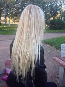 platinum blonde with blonde lowlights.   Beauty ...