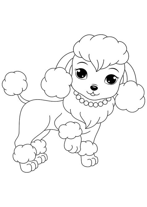printable dogs  puppies coloring pages  kids