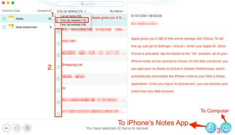 how to recover lost notes on iphone 4 ways to recover deleted lost notes on iphone x 8 7 6s 5s
