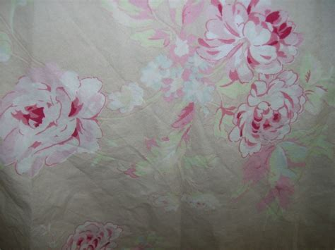 shabby fabric flowers by the yard rachel ashwell shabby chic vintage rose fabric taupe pink floral by the yard new ebay
