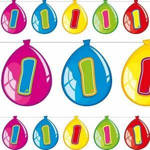 Deko Für 1 Geburtstag : deko set f r den 1 geburtstag mit 63 teilen f r einen bunten kindergeburtstag von folat ~ Buech-reservation.com Haus und Dekorationen