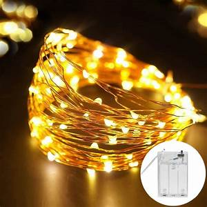 Copper Wire Led String Lights Holiday 5m Outdoor Strip