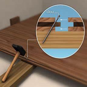 pose parquet cloue le bois chez vous With parquet massif cloué
