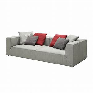 Tom Tailor Big Sofa : bigsofa big cube antiklederoptik grau 6 kissen 240 x 122cm tom tailor eidi24 ~ Bigdaddyawards.com Haus und Dekorationen