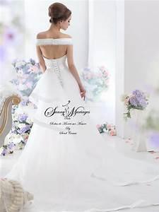 robe de mariee sirene manches courte en dentelle sunny With robe sur mesure pas cher