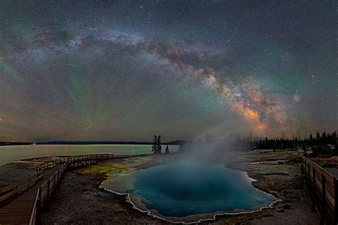 The Milky Way Over Yellowstone Will Leave You Breathless
