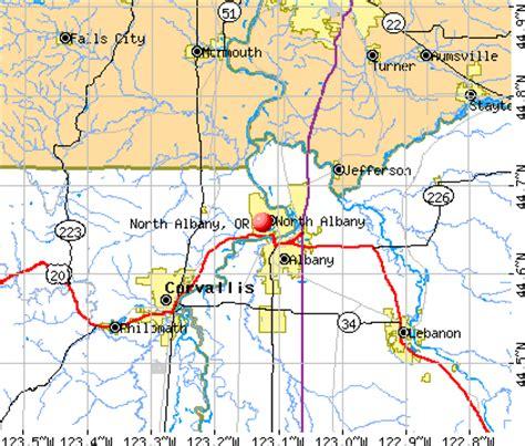 albany oregon map afputra com