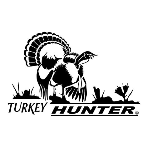 turkey hunter window decal