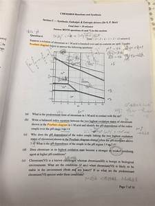 Solved  Chem20018 Reactions And Synthesis Section C