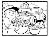 Coloring Pages Country Farm Printable Living Popular Print Getcolorings Template sketch template