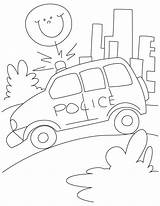 Coloring Road Police Pages Template Petrol Patrol Templates sketch template