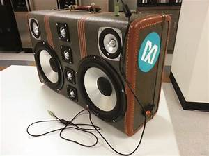 Build an Epic Boombox Out of That Old Suitcase Make: