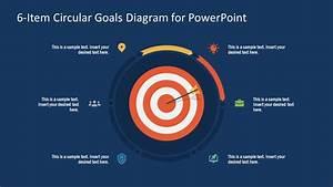 6 Items Powerpoint Circular Diagram