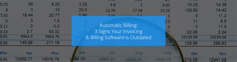 automatic billing  signs  invoicing billing