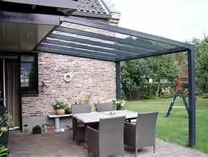 Glas fur terrassenuberdachung inklusive 16mm vsg glas for Glas terrassenüberdachung