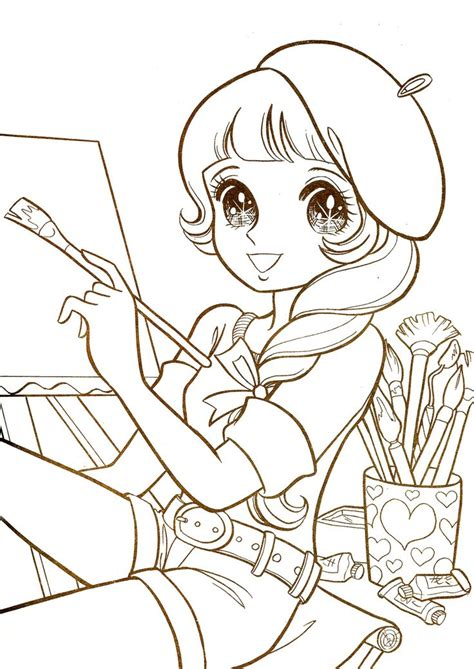 nurie kawaii coloring images  pinterest