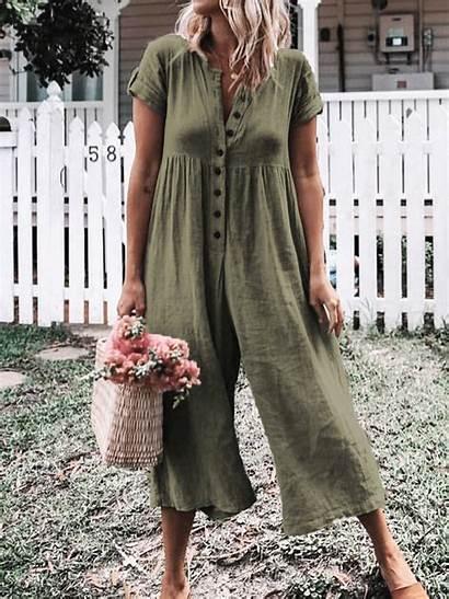 Short Casual Romper Jumpsuit Sleeve Sundress Dresses