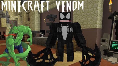 Becoming Venom For A Dayminecraft Legends Mod Youtube