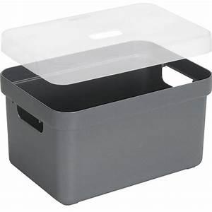 Boite Rangement Photo : boite de rangement avec couvercle transparent sigma ho ~ Teatrodelosmanantiales.com Idées de Décoration