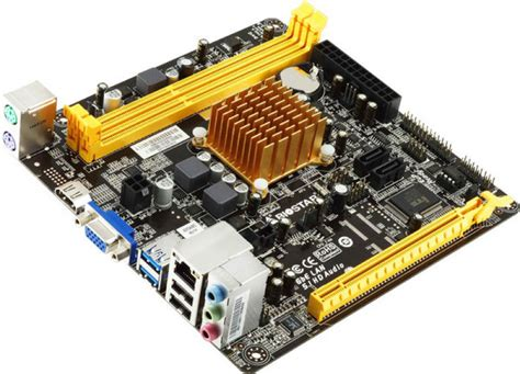 biostar a68n 2100 ver 6 amd fusion apu itx motherboard at ebuyer