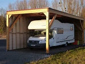 Abri Camping Car Bois : abris de camping cars bourges ltj charpente ~ Dailycaller-alerts.com Idées de Décoration