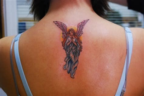 25 Cool Guardian Angel Tattoos