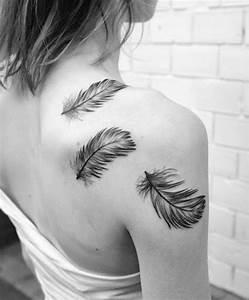 Tattoo Feder Unterarm : feather tattoos google search motive pinterest tattoo ideen feder tattoo und tattoo ~ Frokenaadalensverden.com Haus und Dekorationen