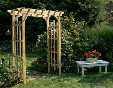 Wooden Garden Arbor Plans