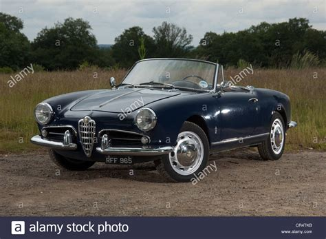 Alfa Romeo Giulietta Spider Convertible Italian Sports Car