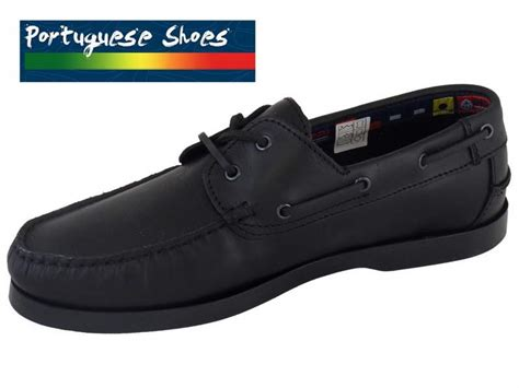 Boat Shoes Quality by Quality Beppi Boat Shoe In Black Free Delivery