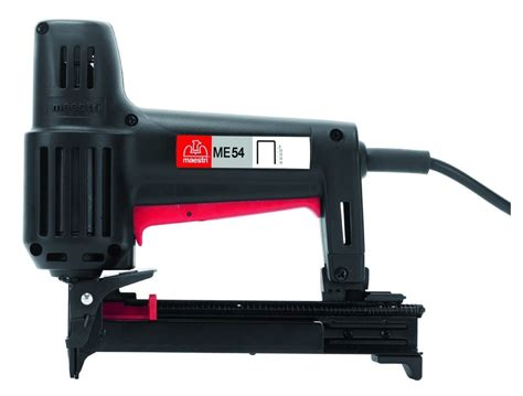 Electric Upholstery Stapler Home Depot by Fasco Maestri Df 54 Narrow Crown Electric Stapler Nail