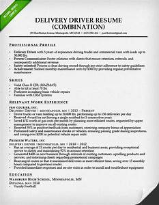 Truck driver resume sample and tips resume genius for Driver resume sample