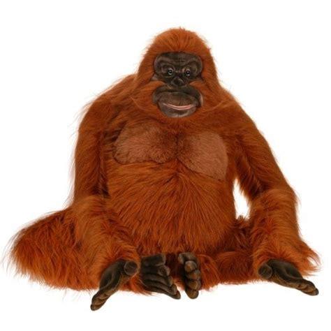 orangutan giant stuffed animal life sized orangutan
