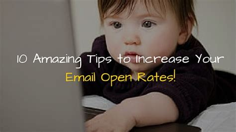 10 Amazing Tips To Increase Your Email Open Rates! Sarv