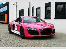 Pink Audi R8 V10 Hello Kitty Loves You! autoevolution