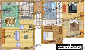 best plan maison moderne en bois pictures amazing house With superior exemple plan de maison 8 architecture lanzarote