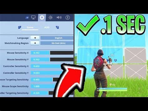 edit faster  fortnite psxbox fortnite console