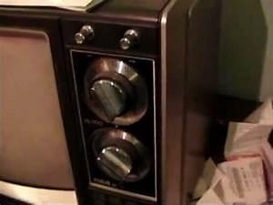Rca Xl-100 Model Efr324w Vintage Color Crt Television