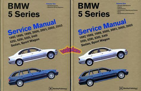 Service Manual [repair Manual 1999 Bmw 5 Series Free