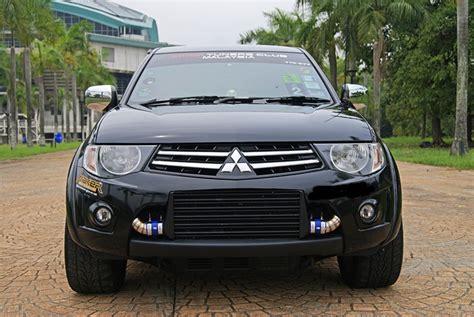 Modifikasi Mitsubishi Triton by Mitsubishi Triton Mod Mekanika Permotoran Gaya Baru