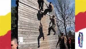ranger wall climb vmi rat challenge obstacle course