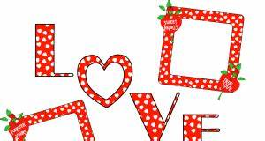 love frame Archives - Free Transparent PNG Images, Icons ...