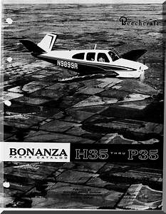 Beechcraft Bonanza H35 Thru P35f Aircraft Parts Catalog