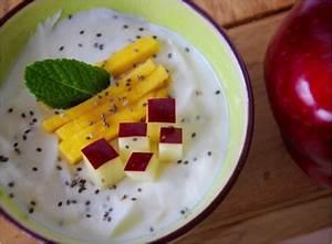Joghurt Mit Chia Samen : chia samen rezept joghurt frische mango pfel und minze ~ A.2002-acura-tl-radio.info Haus und Dekorationen