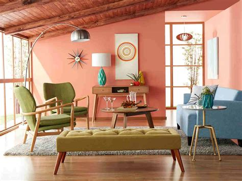 6 Mid Century Modern Living Room Design Tips For A Stylish